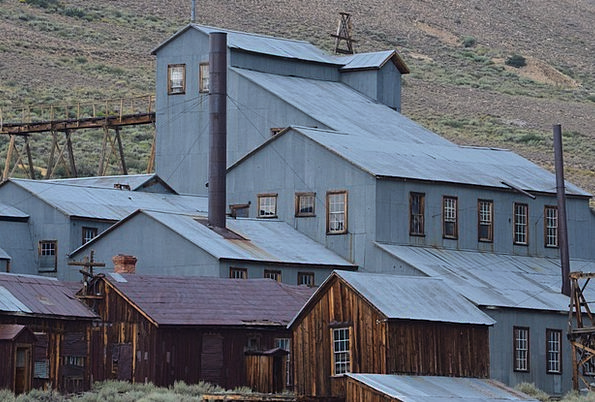 Ghost Town Rustic Rural Bodie Historic Important M