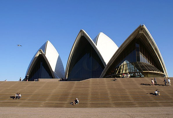 Sydney Opera House Buildings Structure Architectur