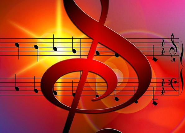 Music Melody Notenblatt Treble Clef Clef Sound Sou