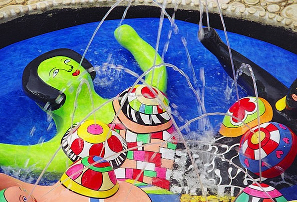 Niki De Saint Phalle Painting Artist Painter Art F