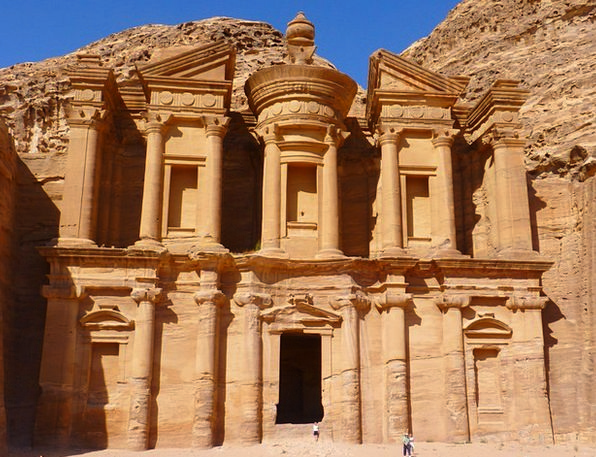 Ed Deir Vacation Cloister Travel Petra Monastery S
