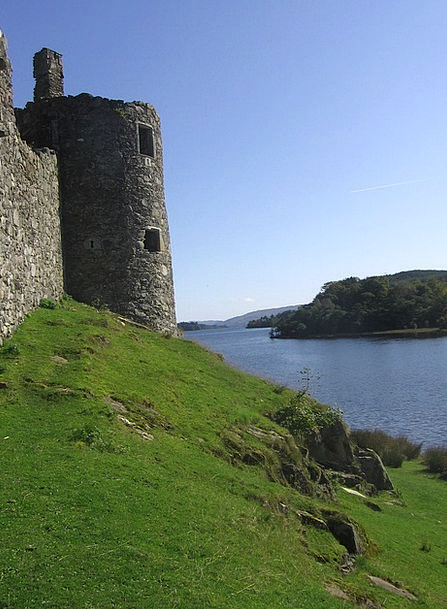 Scotland Fortress Ruin Devastation Castle See Unde