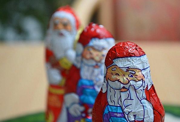 Santa Claus Fig Christmas Man Gentleman Bart Three