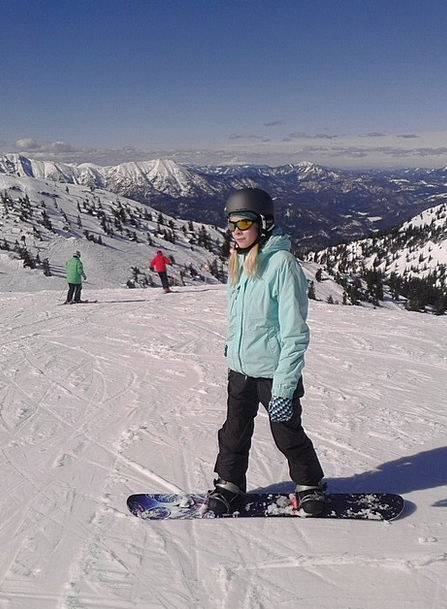 Snowboard Hochkar Skiing Alps Austria