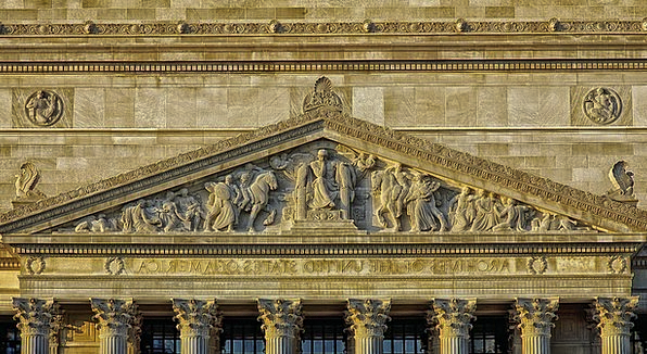 National Archives Buildings Architecture Architect