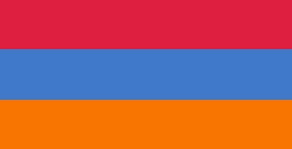 Flag Of Armenia Tricolour Armenian National Flag Y