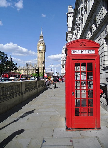Phone Booth Phone Vacation Travel Big Ben London T
