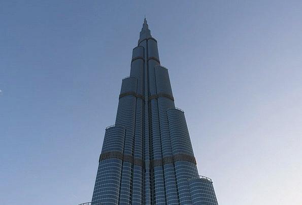 Burj Kalifa Buildings Architecture Skyscraper Towe