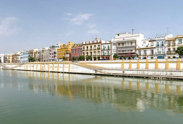 Seville Buildings Architecture Harbor Port Spain S