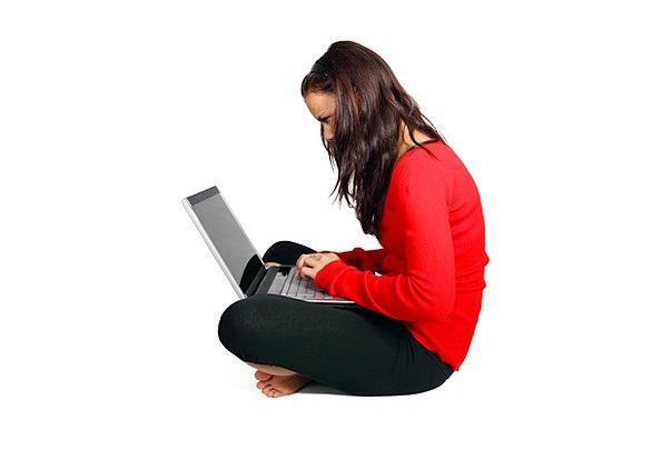Computer Processor Communication Feminine Computer