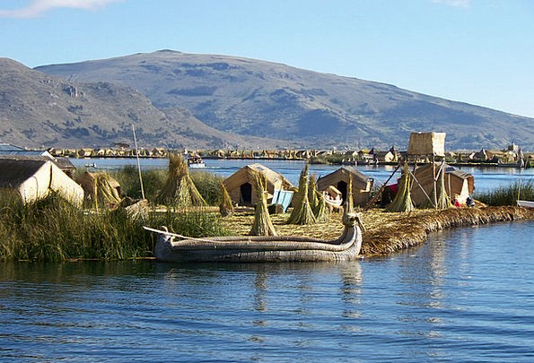 Island Isle Vacation Freshwater Travel Titicaca La