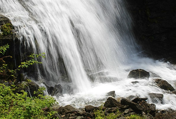Waterfall Cascade Landscapes Aquatic Nature Cool C