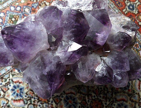 Amethyst Purple Mauve Mineral Inorganic Violet Cry