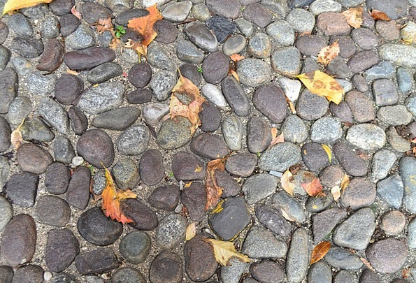 Pavers Textures Reduction Backgrounds Leaves Green