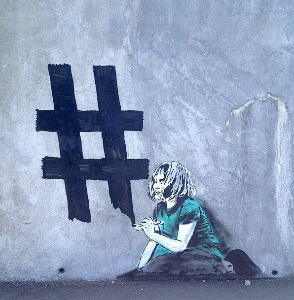 Graffiti Drawings Partition Urban City Wall Girlva