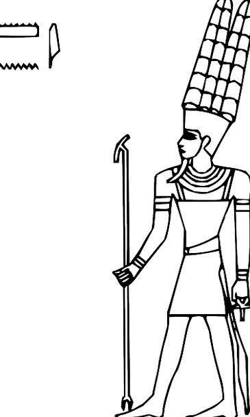 Amun Deity Ancient Antique God Egypt Religion Spir
