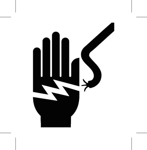 Electricity Power Pointer Electrical Wire Hand Warning
