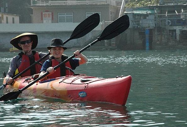 Sea Kayaking Adventure Escapade Father And Son Boa