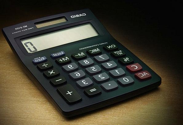 Calculator Adder Finance Business Casio The Calcul