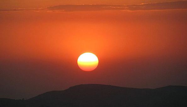 Ethiopia Vacation Travel Sunset Sundown Simien Nat