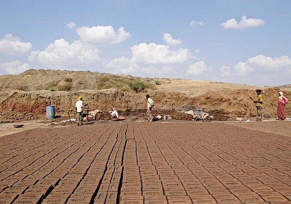 Brick-Laying Craft Industry Brick-Kiln Brick-Makin