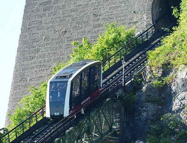 Funicular Railway Pullman Fortress Stronghold Trai