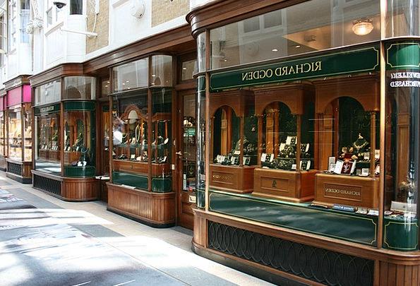 Showcase Cabinet Mayfair Burlington Arcade London