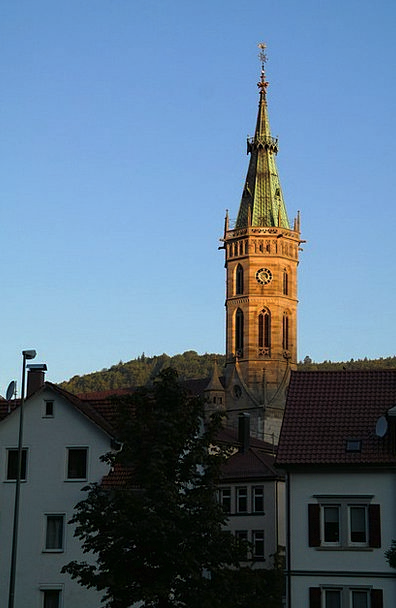 Steeple Tower Ecclesiastical City Church Church Ar