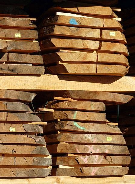 Lumber Wood Sawmill Wood Panels Sägeprodukt Constr