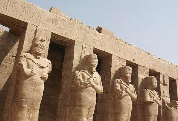 Luxor Shrine Egypt Temple Pharaohs Rulers Temple C