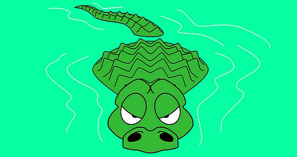 Water Aquatic Predator Marauder Alligator Crocodil