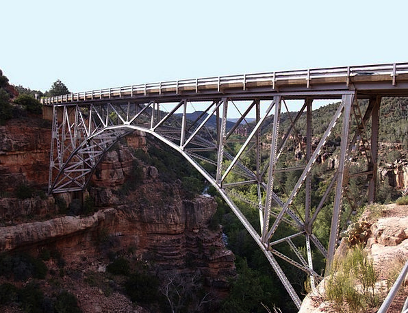 Bridge Bond Buildings Architecture Arizona Sedona