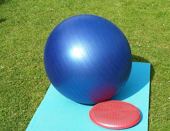 Exercise Ball Gymnastics Aerobics Balance Cushion