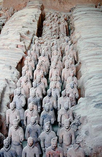 Xi'An Soil Ruins Shells Terracotta Museum Gallery