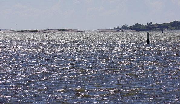 Finnish Sea Marine Helsinki High Wind Surf Island