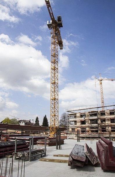 Baukran Hoist Build Shape Crane Reinforcement Site