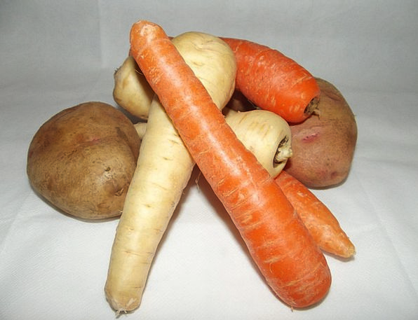 Mixed Varied Entire Vegetables Whole Carrots Incen