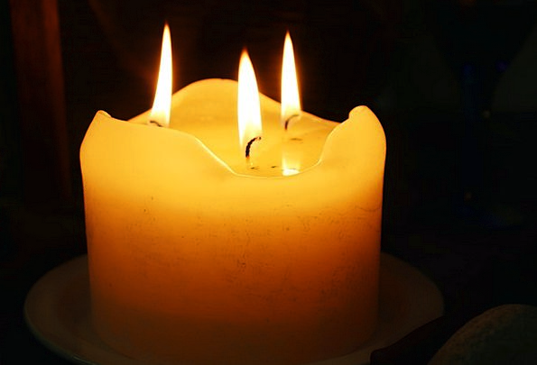 Wax Candle Arrival Candle Taper Advent Wick Light