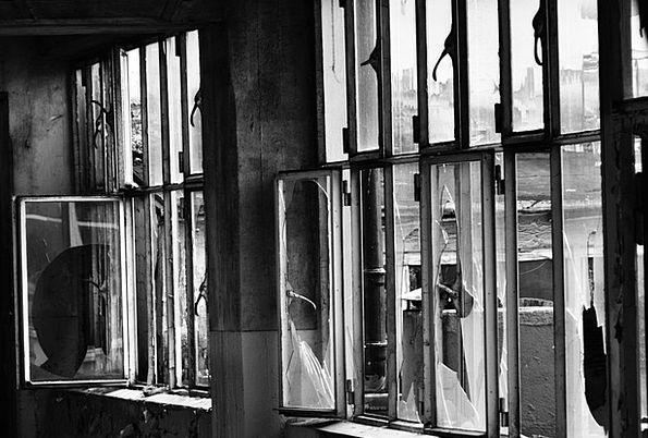 Window Gap Buildings Structure Architecture Devast