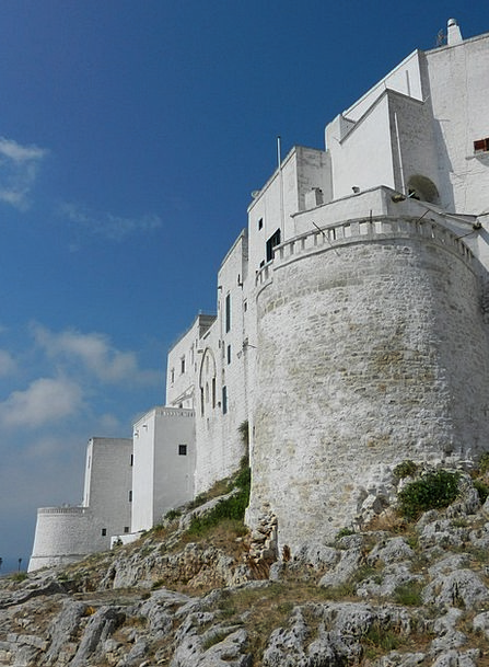 Castle Fortress Buildings Architecture Italia Pugl