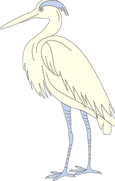 Bird Fowl Annexes Standing Stand-up Wings Beak Bil