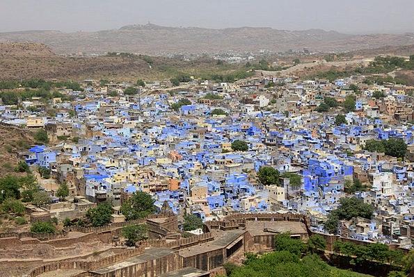 Jodhpur Rajasthan Blue City India