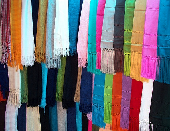 Shawls Wraps Craft Skill Industry Colors Insignia
