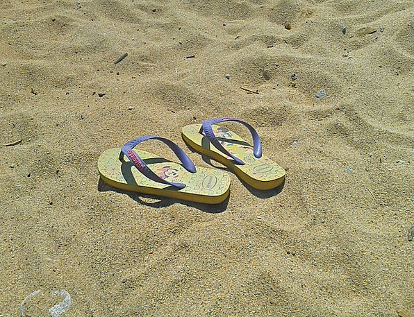 Flip Flops Vacation Travel Summer Straw-hat Shoes