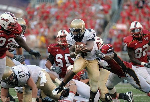 Football Ball Ball Carrier American Running Back P