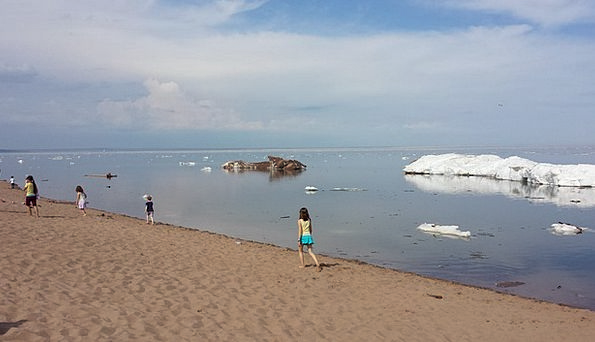 Ice Frost Straw-hat Lake Freshwater Summer Superio