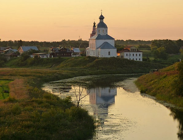Church Ecclesiastical Orthodox Conventional Suzdal