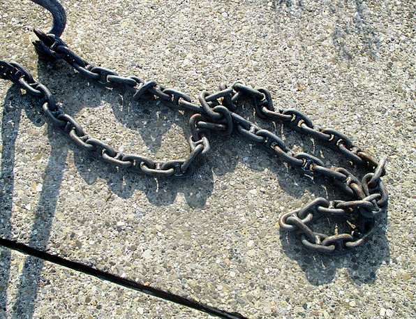 Anchor Chain Cable Metal Metallic Chain Iron Firm