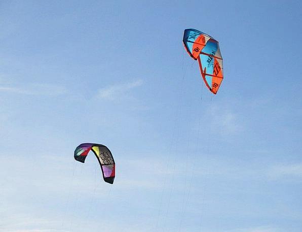 Flying Kites Vacation Travel Beach Seashore Dragon
