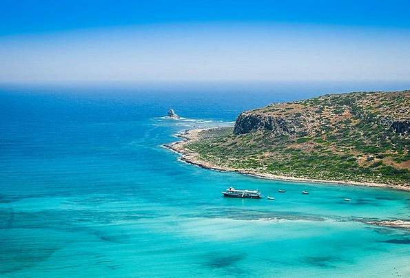Crete Vacation Travel Beach Seashore Greece Blue S